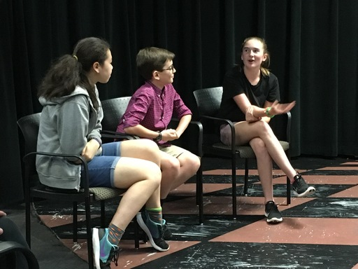 6th Graders Partner with Sidwell Friends School's Playback Theatre