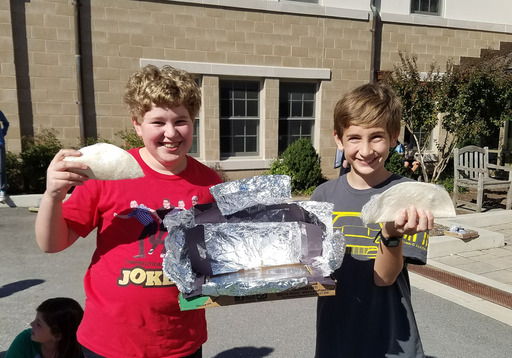 6th Grade Engineers Solar Ovens