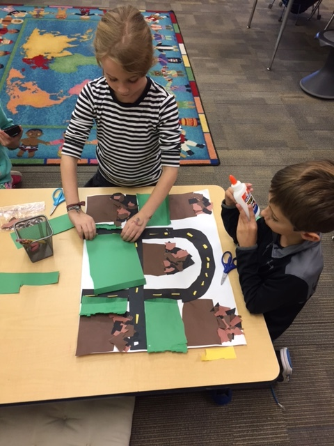 2nd Grade Creates to Show Learning about Communities