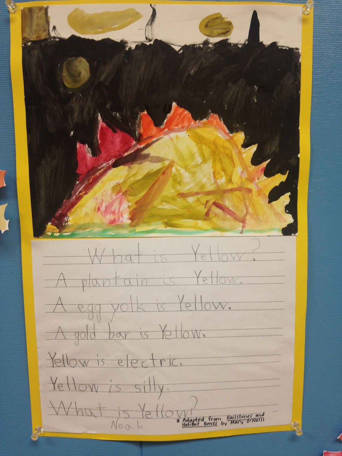 1st Grade Poets Put Feelings to Paper