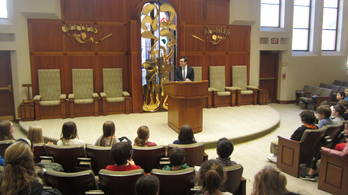 Student Voices: 5th Grade Visits Synagogue
