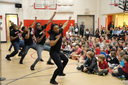 Step Afrika! Wows Students at Assembly