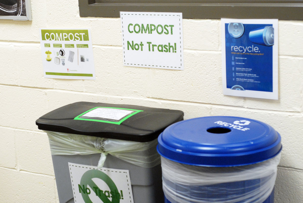 School-wide Efforts Support Composting and Other Environmental Measures